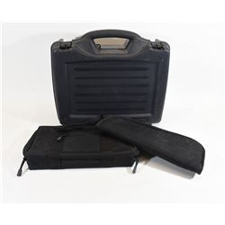 3 Pistol Cases