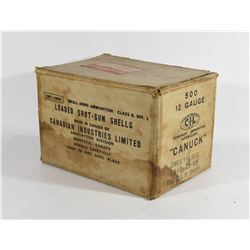 Antique Paper Ammo Box