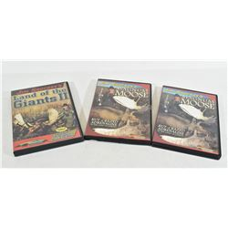 3 Jim Shockey DVDs