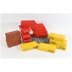 Box Lot of Empty Ammo Cases