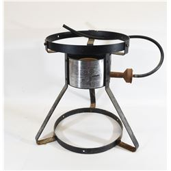 Gas Burner with Pans