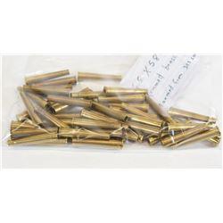 45 Pieces 6.5 X 58R Casings