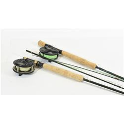 2 Fly Fishing Rods