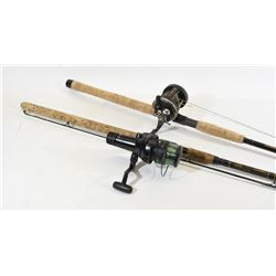 2 Trolling Fishing Rods