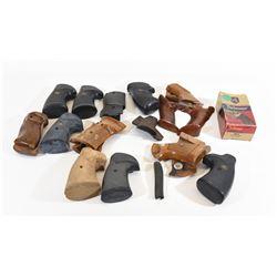 Box Lot of 15 Handgun Grips