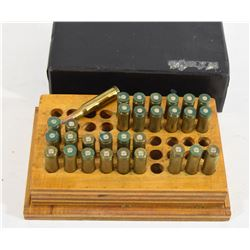 13 Rounds of 222 Remington and 17 Brass