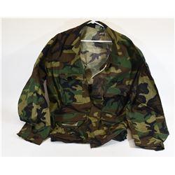 Woodland Camo Jacket
