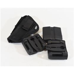 Holster and Mag Pouches