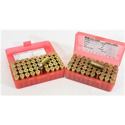 "100 Rounds of Reloaded 44-40 240gr ""Target Loads"""