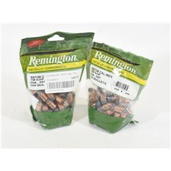 180 Pieces of Remington 357 158gr SJHP Projectiles