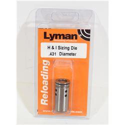Lyman Lube and Size Die .431 Diameter