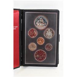 1979 Canadian Mint  Double Strike Dollar Set