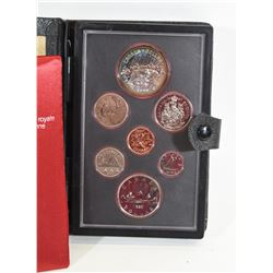 1980 Canadian Mint  Double Strike Dollar Set