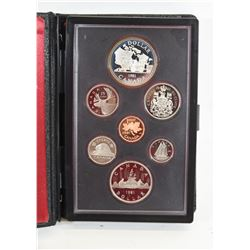 1981 Canadian Mint Proof Set
