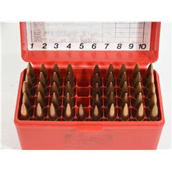 46 Rounds of Reloaded 308 Winchester in MTM Case