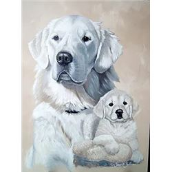 Custom Portrait of Your Pet or Hunting Trophy