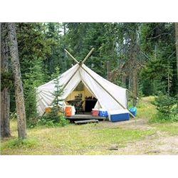 All Girl Getaway Camping Trip In Wyoming