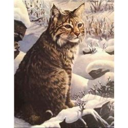 """""""On the Watch"""" Giclee Hand Embellished Print"""