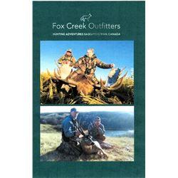 Saskatchewan Mule Deer Hunt