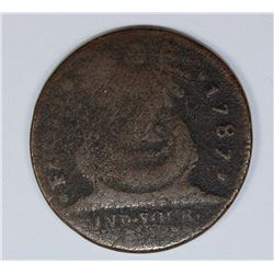 1787 FUGIO CENT UNATTRITBUTED