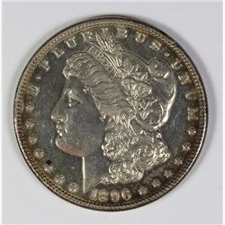 1896 $1 DEEP MIRROR PROOF LIKE