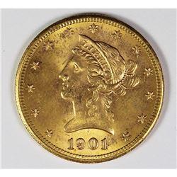 1901-S $10 LIBERTY GOLD