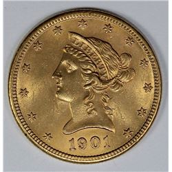 1901 $10 LIBERTY GOLD