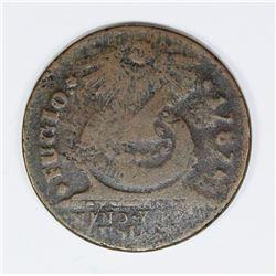 1787 FUGIO CENT KESSLER 18H.1 RARITY 6