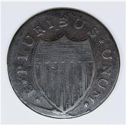 1787 NEW JERSEY CENT MARIS 6D