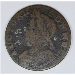 MUSEUM INKED 1786 CONN. CENT R5+