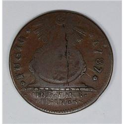 1787 FUGIO CENT KESSLER 10-G RARITY 6