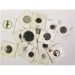 15 WORLD COINS 1600-1900