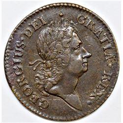 1722 UTILE DULCI ROSA AMERICANA PENNY