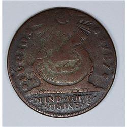 1787 FUGIO CENT KESSLER 12M R4
