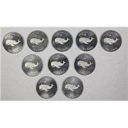 LOT OF 10 NANTUCKET ISLAND GOOD 4 BITS
