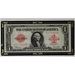 SUPERB GEM UNC $1 LEGAL TENDER RED SEAL 1923 F40