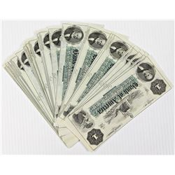 AMAZING PACK OF 100 CRISP NEW OBSOLETE $1 NOTES