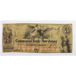 COMMERCIAL BANK OF NJ $3 1851
