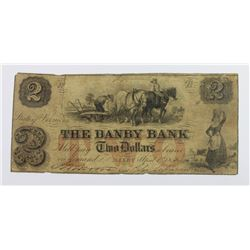 THE DANBY BANK $2 1856