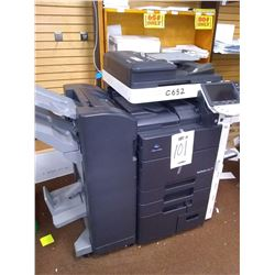 Konica Minolta Bizhub C652 Copier,w/ Finisher Model FS-527, Runs/ Over $11,000.00 new