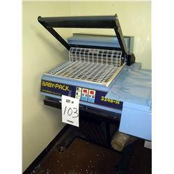 Italdibipack Baby-Pack 3246-N Shrink Wrap Machine, w/ Mobile Stand