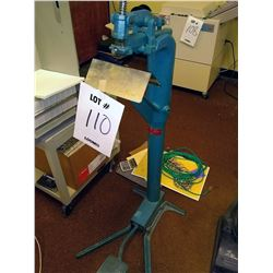 ACME FLOOR MODEL COMMERCIAL STAPLER, FOOT OPERATED
