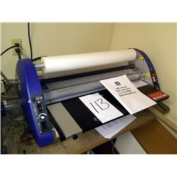 27 IN. USI ARL-SERIES ROLL LAMINATOR, IN-LINE SLITTER, $1,500.00 NEW