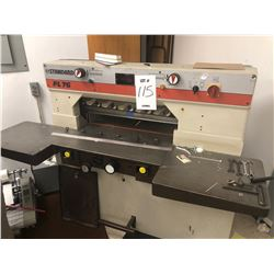 STANDARD FL76 CUTTER PRESS / Paid $6500.00