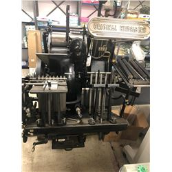 ORIGINAL HEIDELBERG WINDMILL PRESS 12 X 18