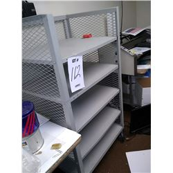 METAL ORDER /  PRINTING INVENTORY CART ON WHEELS