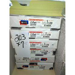 NCR #5789 2 PART REVERSE BLACK PRINT /$25.00 PACK