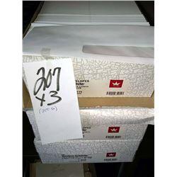 WESTERN SULPHITE 500 CT WHITE #3115 WINDOW ENVELOPE / APPROX. $25.00 NEW