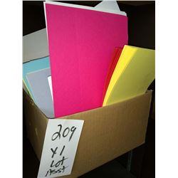 ASSORTED COLOR PAPER