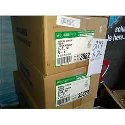 "ROYAL LINEN IVORY ENVELOPES 4 3/8"" X 5 3/4"" / APPROX. $150.00 PER CS NEW"